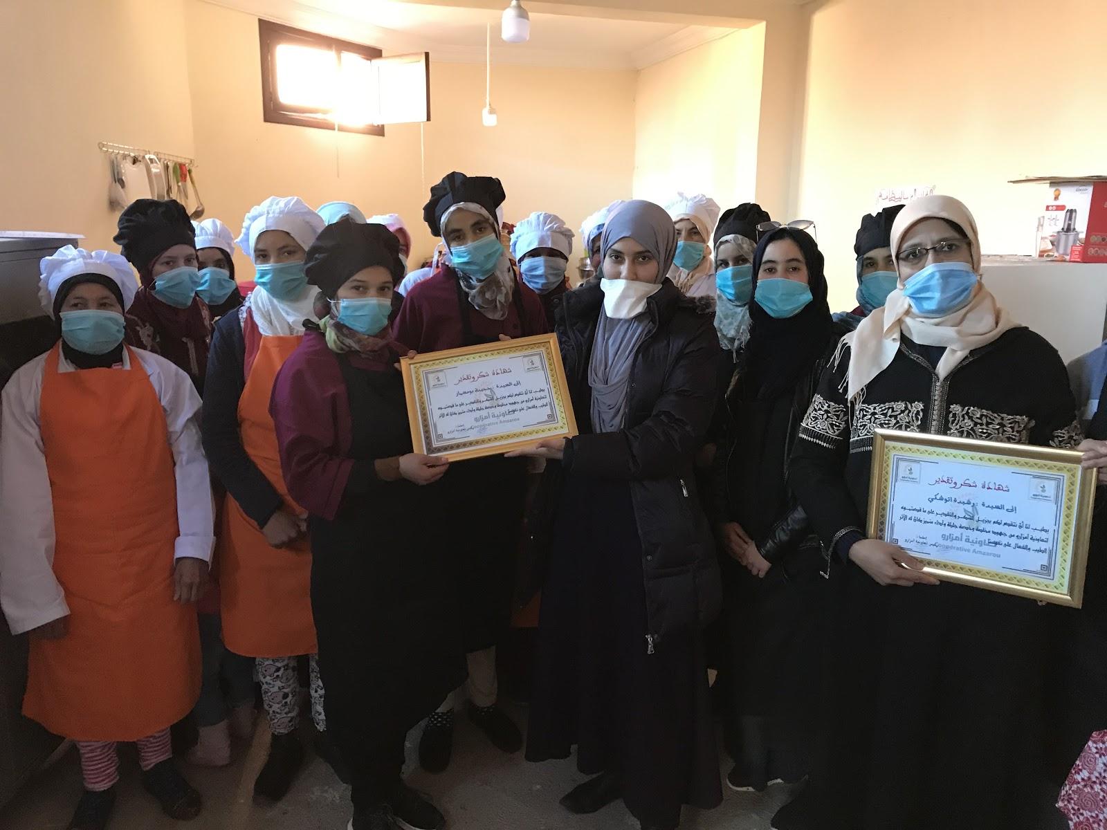 Women's Empowerment with Farmer-to-Farmer in Tidili Mesfioua