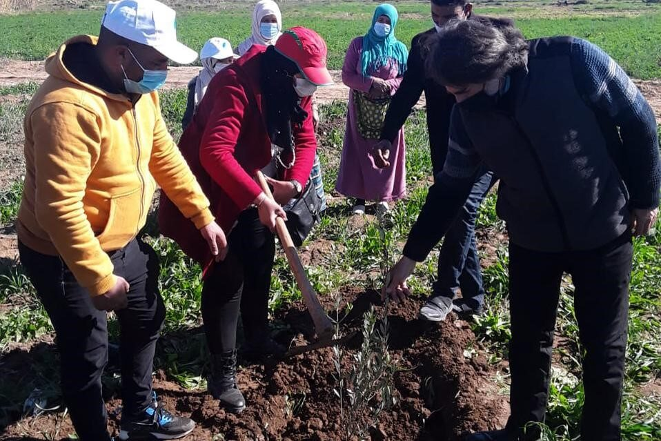HAF Celebrates Tree Planting Day 2021 with the People of Morocco