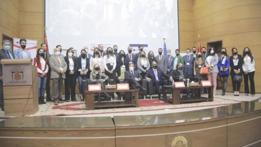 Visite de Monsieur David Greene, Chargé d'Affaires de l'Ambassade des Etats-Unis au Maroc, à la Clinique Juridique de la Faculté de Droit de l'Université Sidi Mohamed Ben Abdellah à Fès